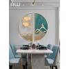 现代轻奢餐厅装饰墙面创意挂件装修饰品客厅墙壁墙面装饰玄关壁饰
